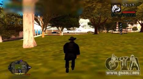 Suicidio para GTA San Andreas segunda pantalla
