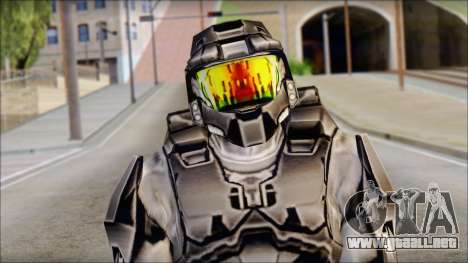 Masterchief Black from Halo para GTA San Andreas tercera pantalla