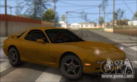 Mazda RX-7 1991 para GTA San Andreas left