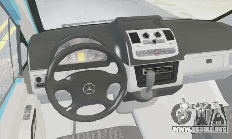 Mercedes-Benz 115 CDI Vito 2007 Stance para visión interna GTA San Andreas