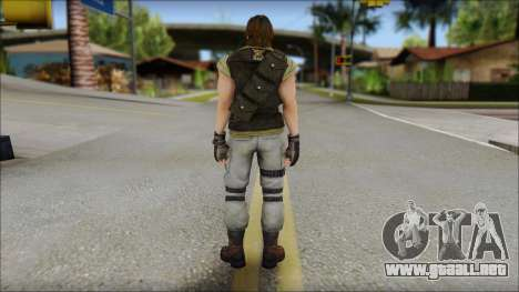 Carlos para GTA San Andreas segunda pantalla