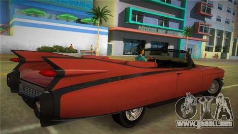 Cadillac Eldorado para GTA Vice City left