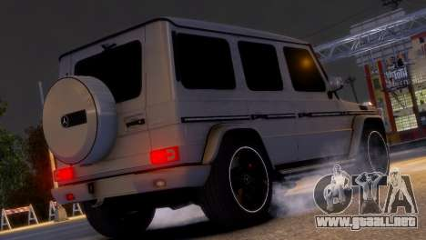 Mercedes-Benz G65 AMG v1.1 para GTA 4 left