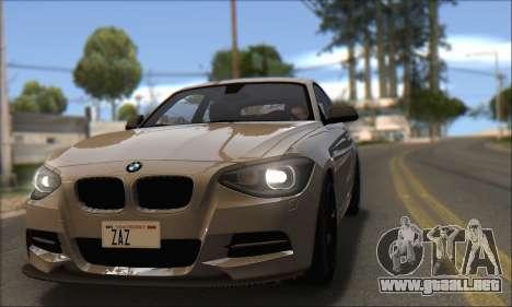BMW M135i para la visión correcta GTA San Andreas