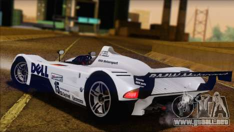 BMW 14 LMR 1999 para GTA San Andreas left