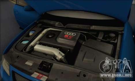 Audi A3 1999 para la vista superior GTA San Andreas