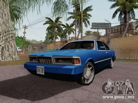 Sentinel Coupe para GTA San Andreas