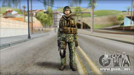 Forest UDT-SEAL ROK MC from Soldier Front 2 para GTA San Andreas