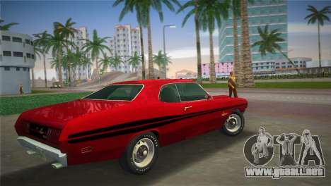 Dodge Dart Demon 340 1971 para GTA Vice City left