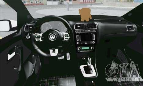 Volkswagen Polo para vista lateral GTA San Andreas
