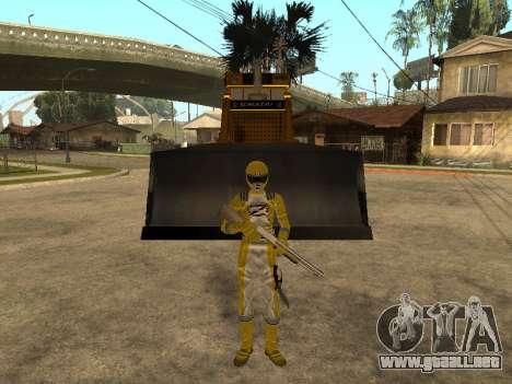 Power Rangers Operation Overdrive para GTA San Andreas sucesivamente de pantalla