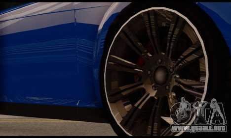 Ubermacht Zion XS 1.0 para la visión correcta GTA San Andreas