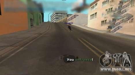 Unfreeze para GTA San Andreas tercera pantalla