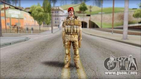 Desert Vlad GRU from Soldier Front 2 para GTA San Andreas