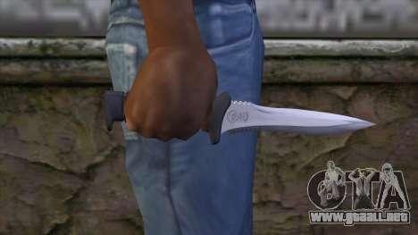 Knife from Resident Evil 6 v1 para GTA San Andreas tercera pantalla