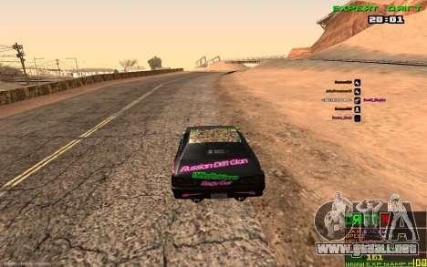 La Deriva De Equipaje para GTA San Andreas