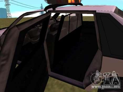 Police Original Cruiser v.4 para el motor de GTA San Andreas