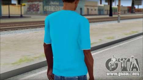 Go hard or Go home Shirt para GTA San Andreas segunda pantalla