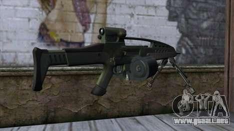 XM8 LMG Olive para GTA San Andreas segunda pantalla