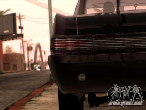 Lime ENB v1.1 para GTA San Andreas octavo de pantalla