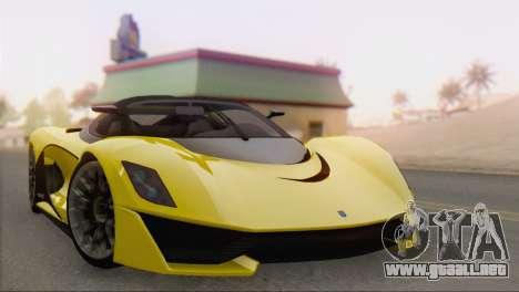 GTA V Turismo R para GTA San Andreas