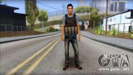 Skin Civil v1 para GTA San Andreas segunda pantalla
