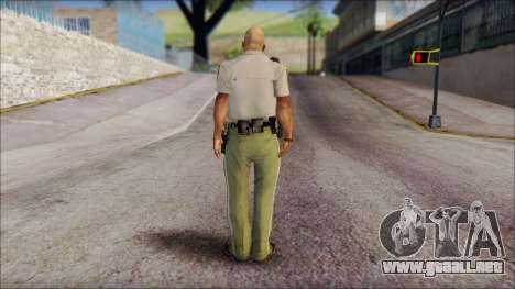 James Wheeler from Silent Hill Homecoming para GTA San Andreas segunda pantalla