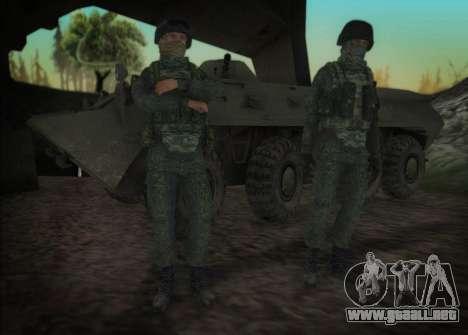 El ataque de las fuerzas especiales del interior para GTA San Andreas sucesivamente de pantalla