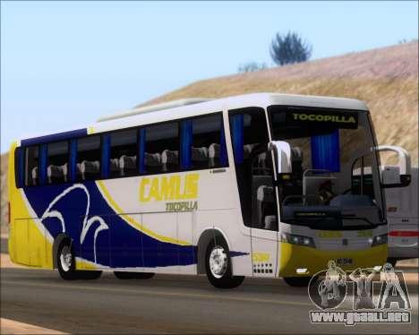 Busscar Vissta Buss LO Mercedes Benz 0-500RS para GTA San Andreas left