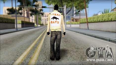 Joel from Good Charlotte para GTA San Andreas segunda pantalla