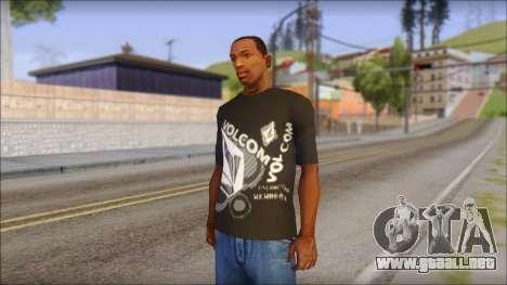 Volcom T-Shirt para GTA San Andreas