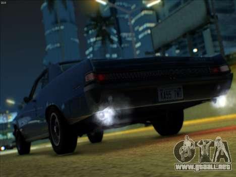 Lime ENB v1.1 para GTA San Andreas sexta pantalla