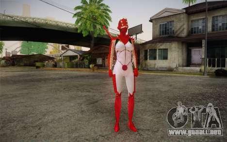 Hibana from Nigthshade of Shinobi para GTA San Andreas segunda pantalla
