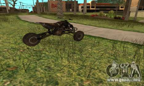 Trike from Ravaged para GTA San Andreas left