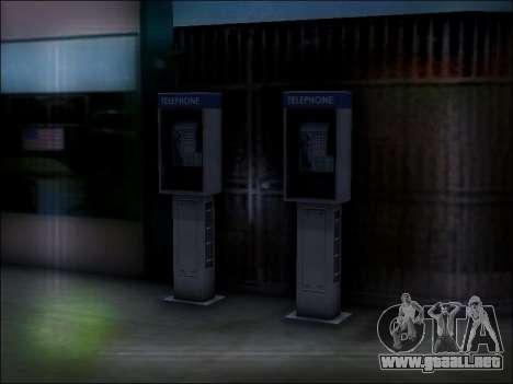 Calle de teléfono para GTA San Andreas sexta pantalla