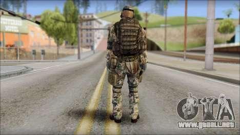 Nima GROM from Soldier Front 2 para GTA San Andreas segunda pantalla