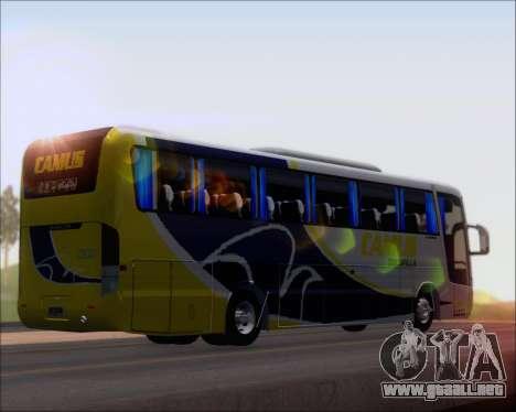 Busscar Vissta Buss LO Mercedes Benz 0-500RS para GTA San Andreas vista posterior izquierda