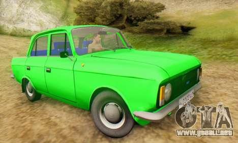 Moskvich 412 [DSA] para la visión correcta GTA San Andreas