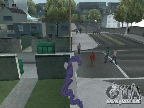 Rarity para GTA San Andreas sucesivamente de pantalla