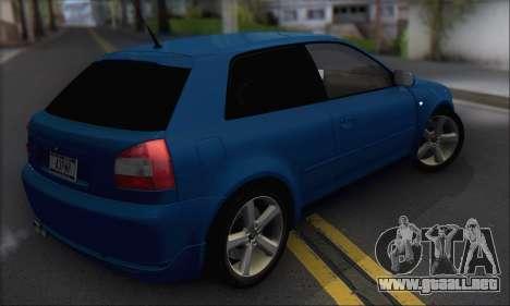 Audi A3 1999 para la visión correcta GTA San Andreas