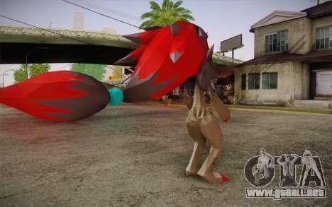 Zoroark from Pokemon para GTA San Andreas segunda pantalla
