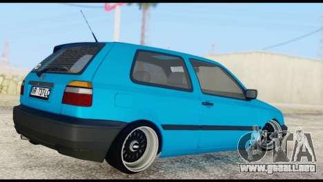 Volkswagen MK3 deLidoLu Edit para GTA San Andreas left