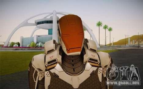 Iron Man Gemini Armor para GTA San Andreas tercera pantalla
