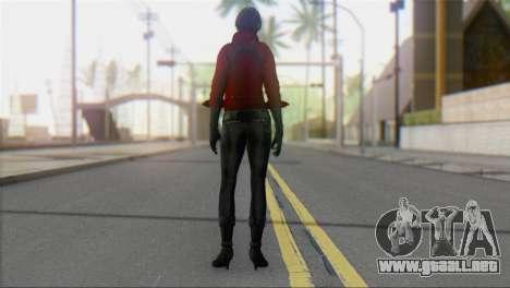 Ada Wong v1 para GTA San Andreas segunda pantalla