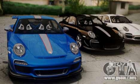 Porsche 911 GT3 RS4.0 2011 para la visión correcta GTA San Andreas