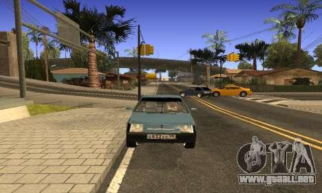 ZAZ Tavria para la visión correcta GTA San Andreas