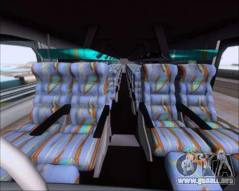 Busscar Jum Buss 400 Volvo B10R Pullman Del Sur para vista lateral GTA San Andreas