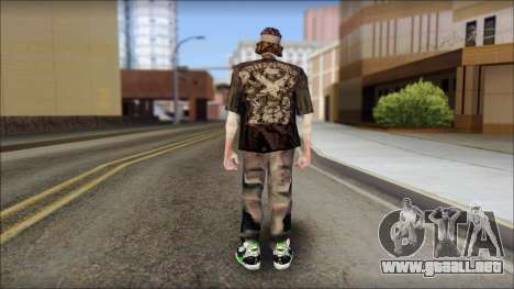 The Truth Skin para GTA San Andreas segunda pantalla
