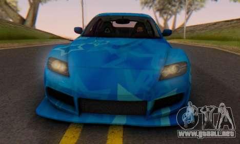 Mazda RX-8 VeilSide Blue Star para GTA San Andreas