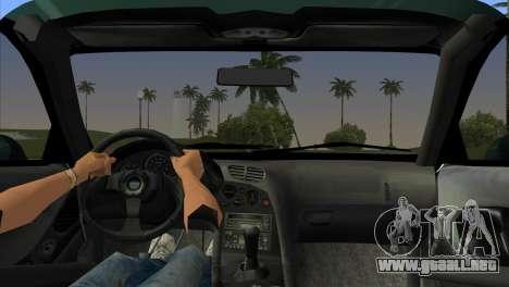 Mazda RX-7 Tuning para GTA Vice City vista lateral izquierdo